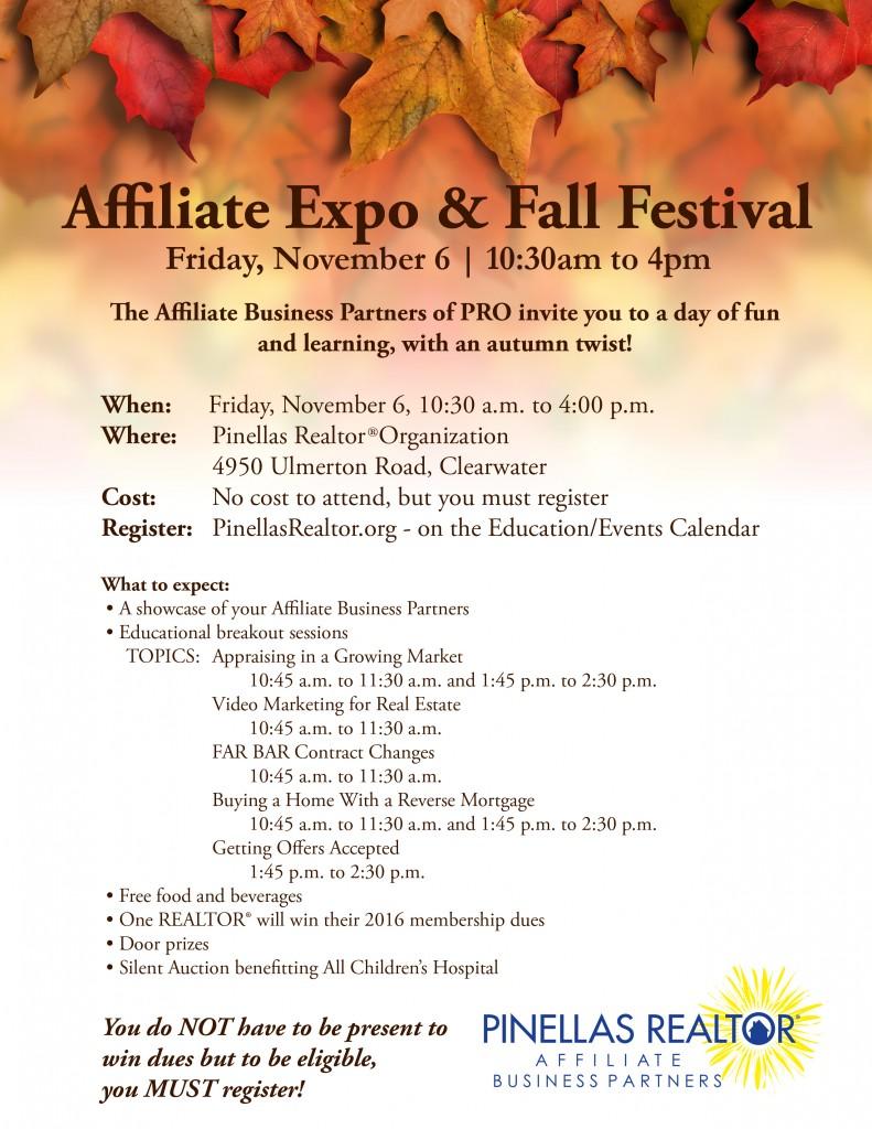 PRO Affiliate Expo & Fall Festival