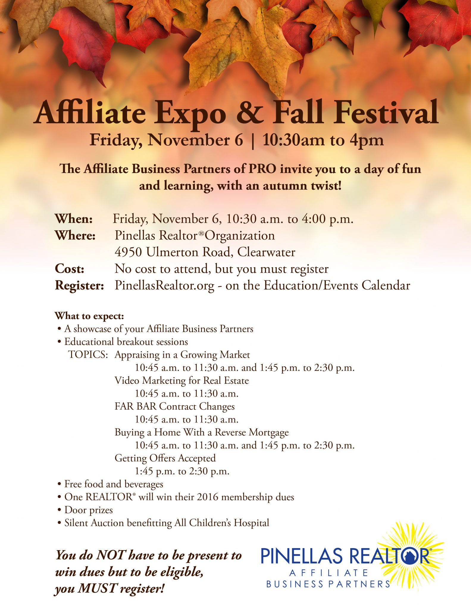 PRO Affiliate Expo & Fall Festival
